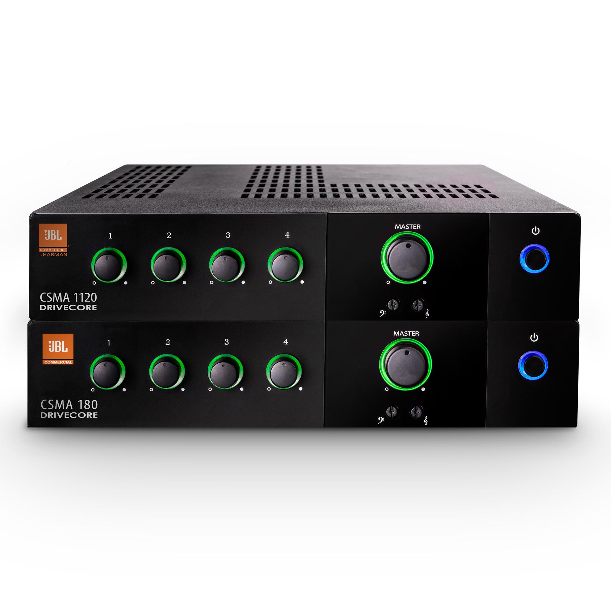 CS Series Mixer Amplifiers