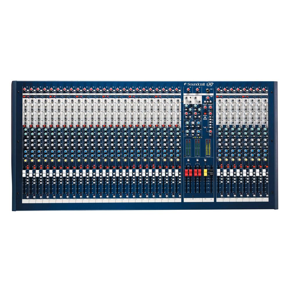 Live Mixer, 32 Mic/Line Inputs, 4 Groups, 6 Aux