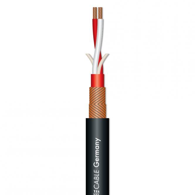 Microphone Cable SC-Galileo 238; 2 x 0,38 mm²; PVC Ø 7,00 mm