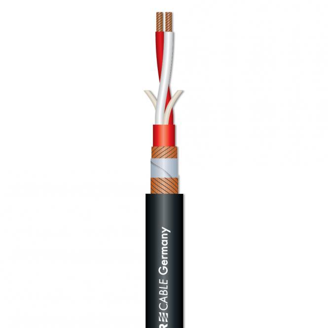 Microphone Cable SC-Galileo 238 Plus; 2 x 0,38 mm²; PVC Ø 7,00 mm