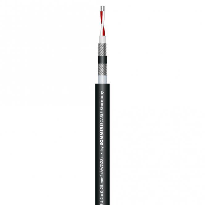 Microphone Cable SC-AQUA MARINEX MIKRO 25; 2 x 0,25 mm²; PUR-SR Ø 7,20 mm