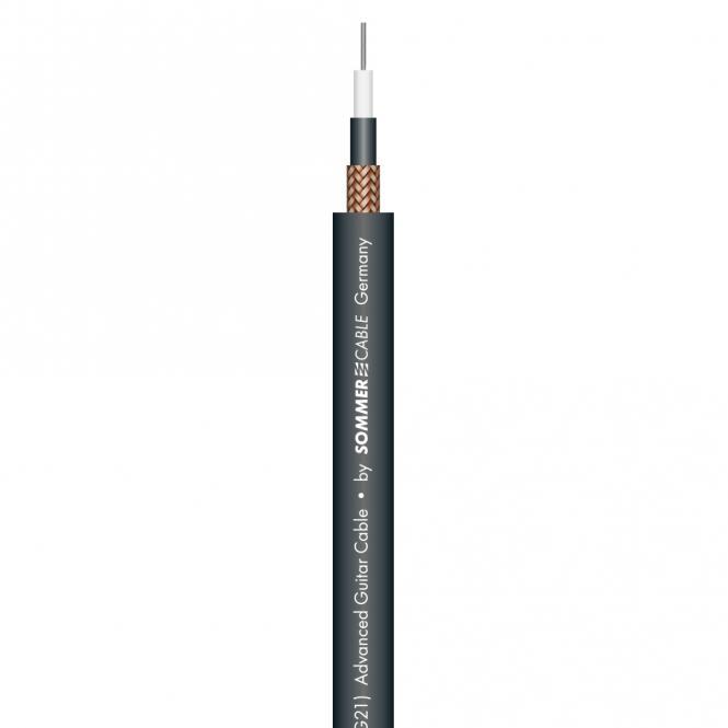 "Instrument Cable SC-SPIRIT LLX ""LOW LOSS""; 1 x 0,38 mm²; PVC Ø 7,50 mm"