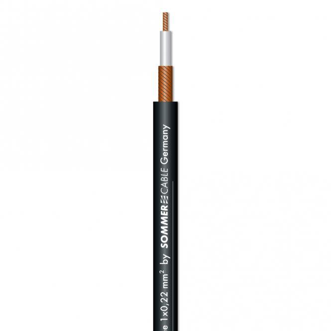 Patch & Instrument Cable SC-Onyx Tynee; 1 x 0,22 mm²; PVC Ø 4,00 mm