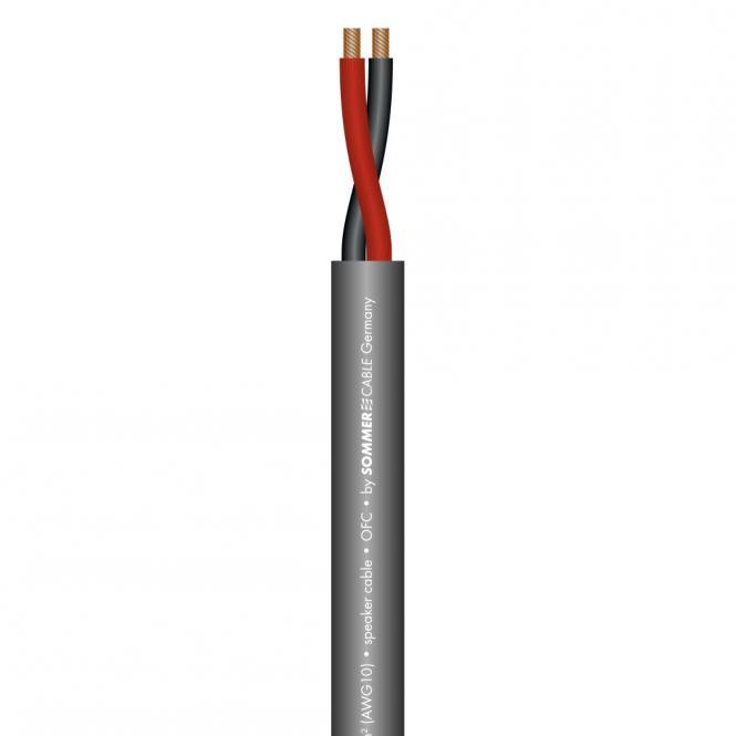 Speaker Cable Meridian Mobile SP260; 2 x 6,00 mm²; PVC Ø 10,00 mm