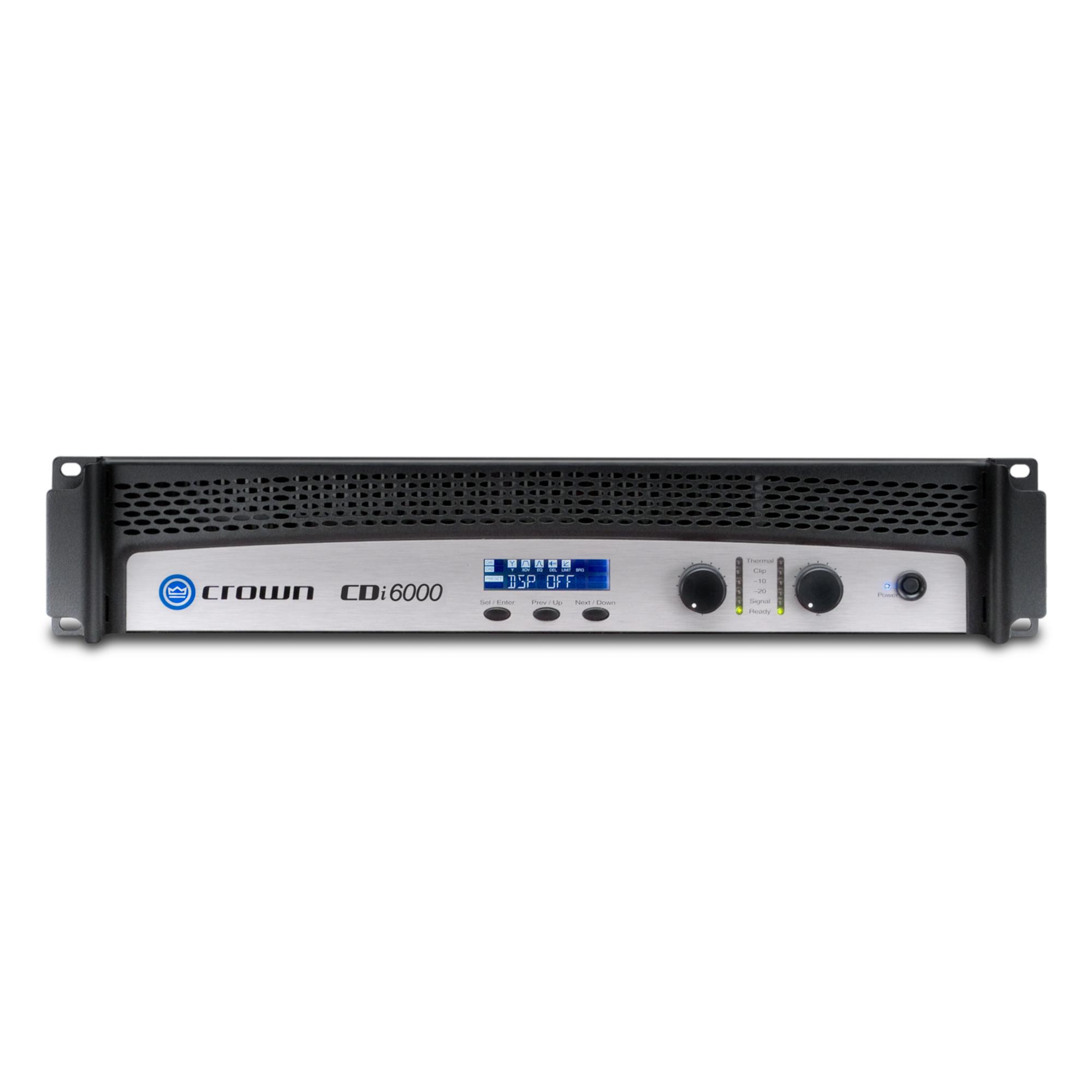Two-channel, 2100W @ 4Ω, 70V/140V Power Amplifier