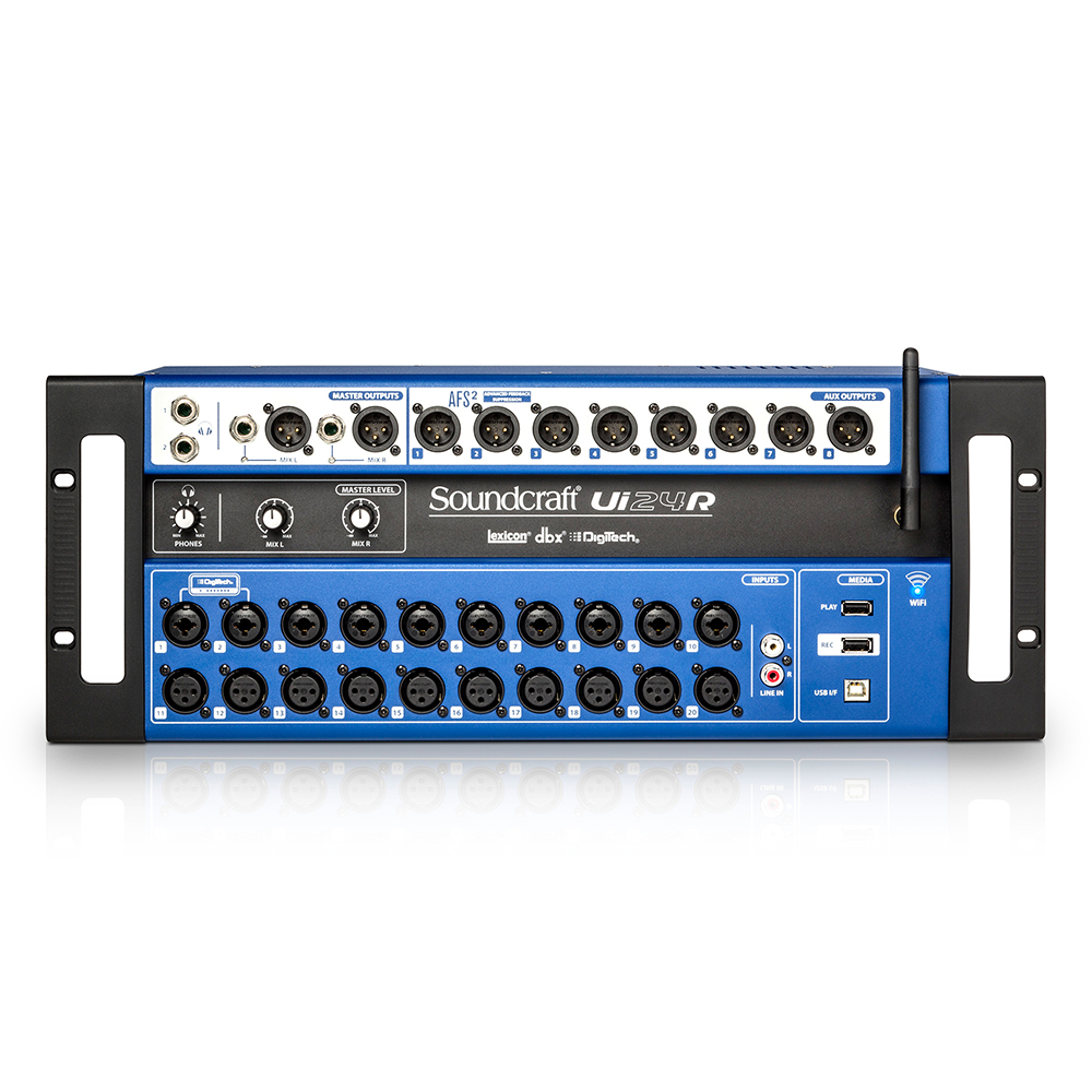 24-channel Digital Mixer/USB Multi-Track Recorder with Wireless Control