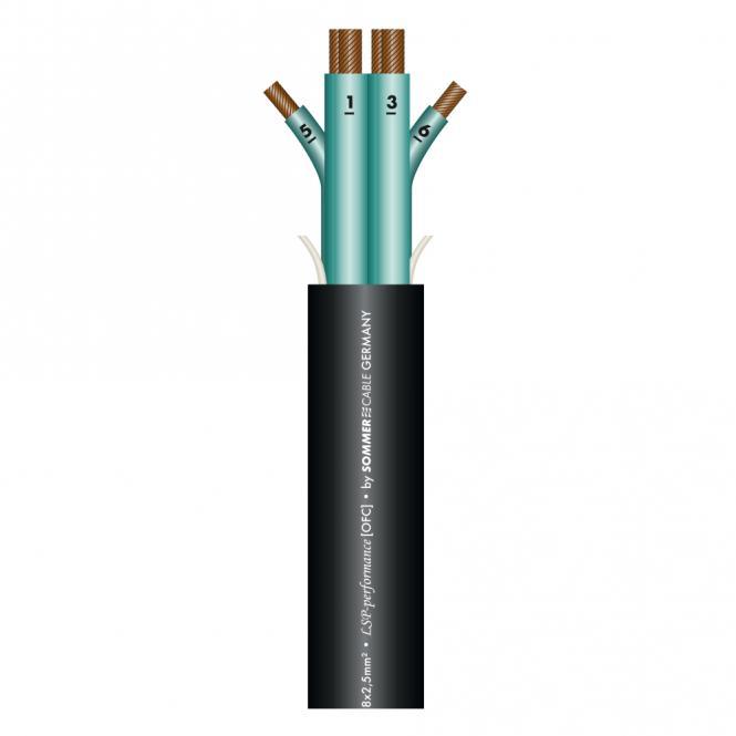 Speaker Cable Elephant SPM4025; 4 x 4,00 mm²; PVC Ø 14,80 mm