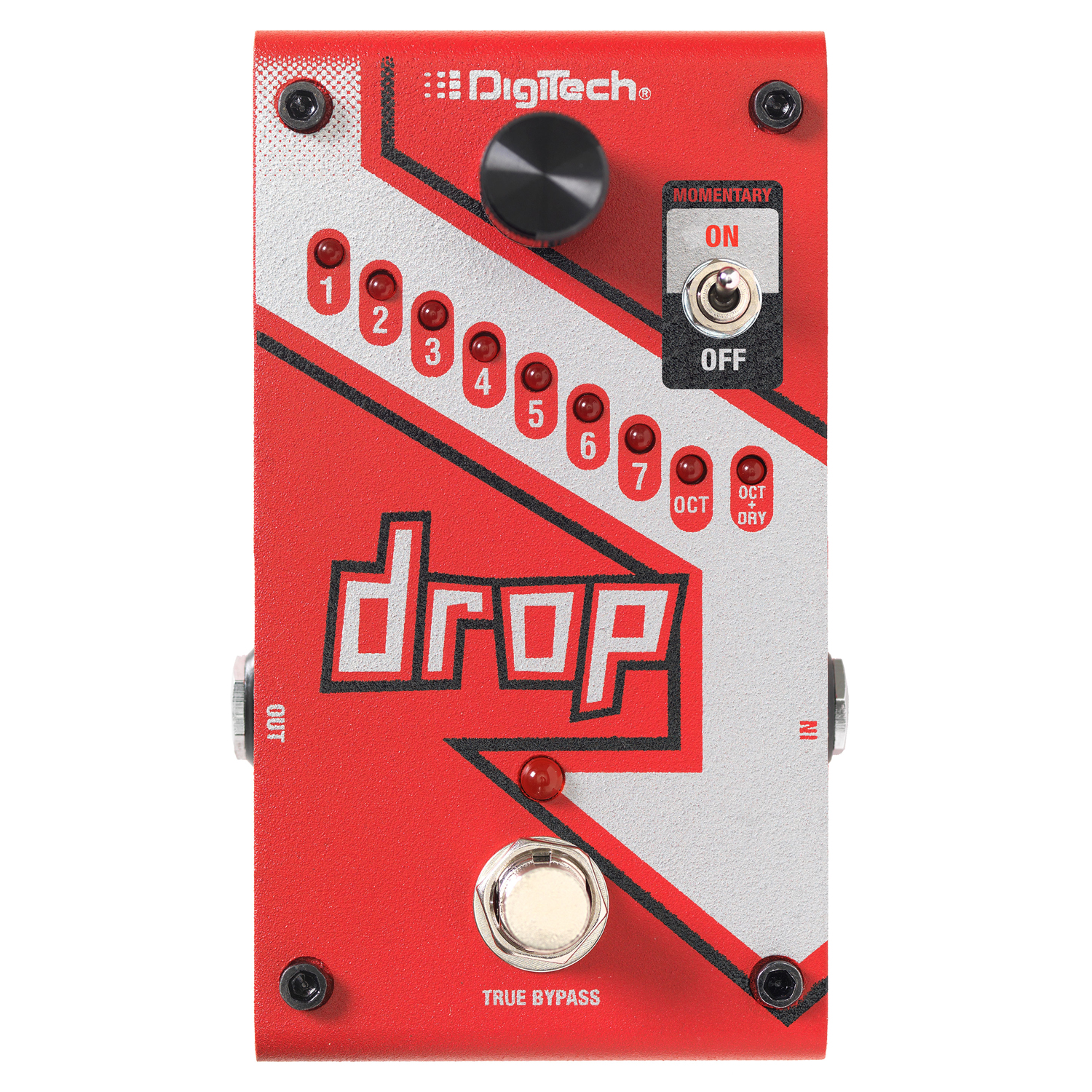 Polyphonic Drop Tune Pedal
