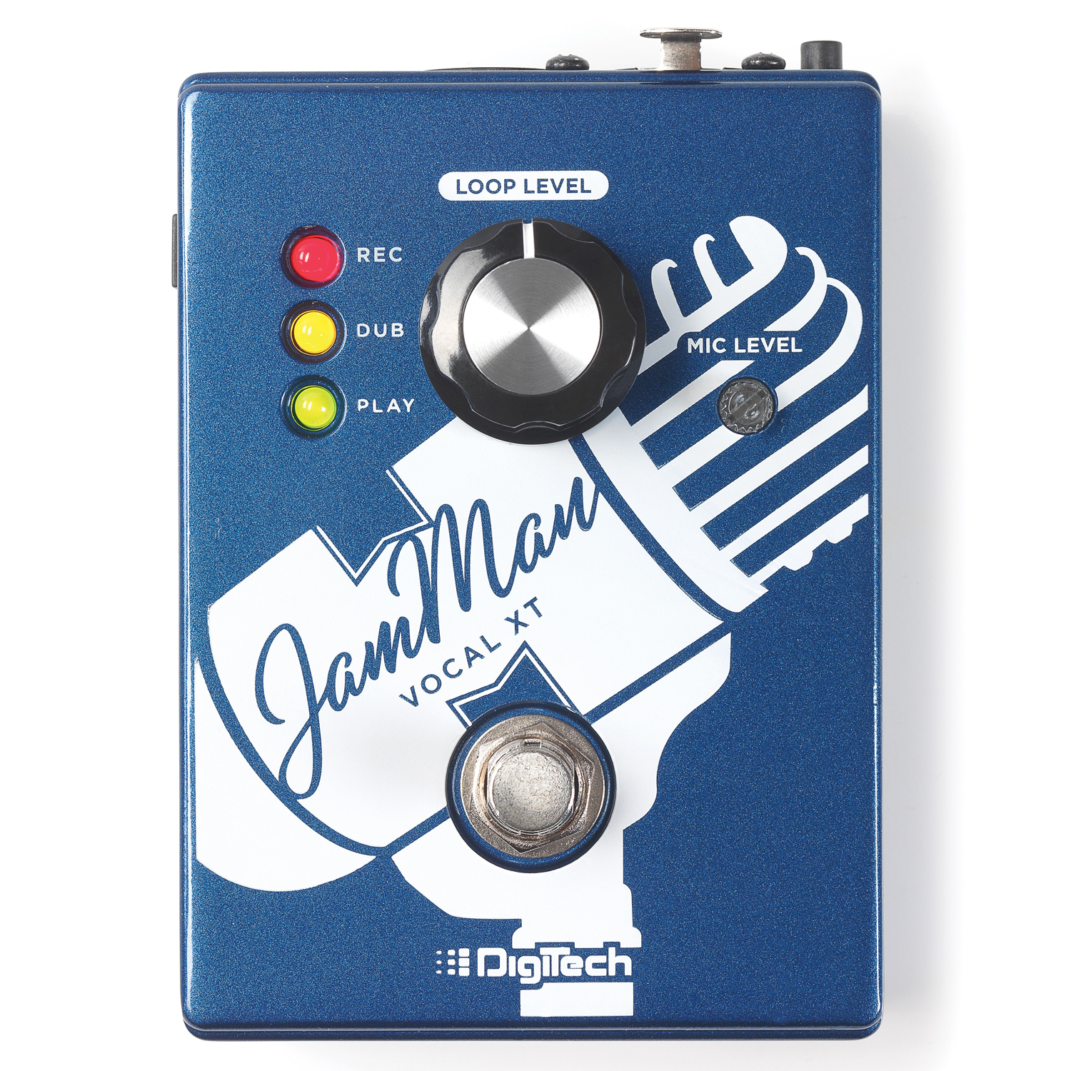 The First Dedicated Stompbox Looper for Vocalists