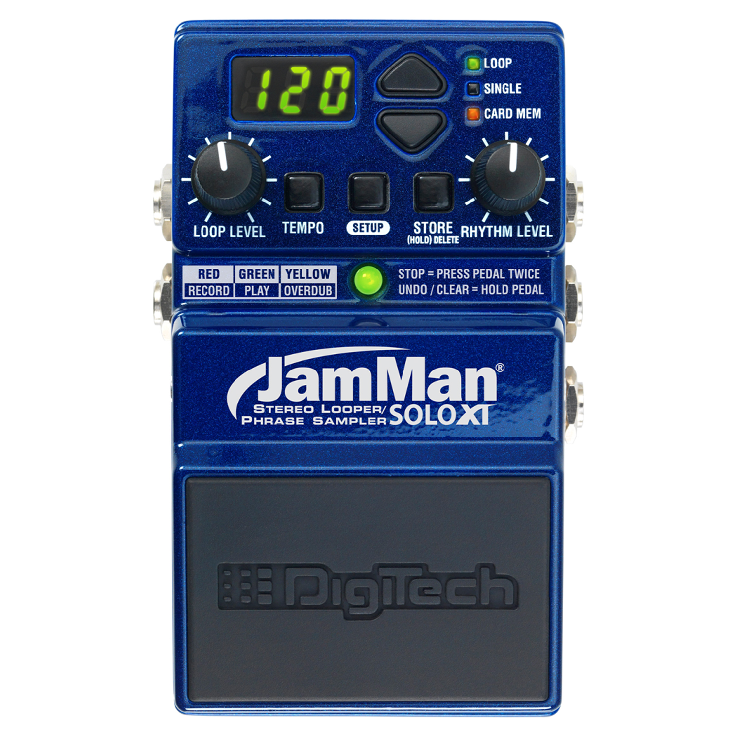 Stereo Looping in a Compact Pedal with JamSync