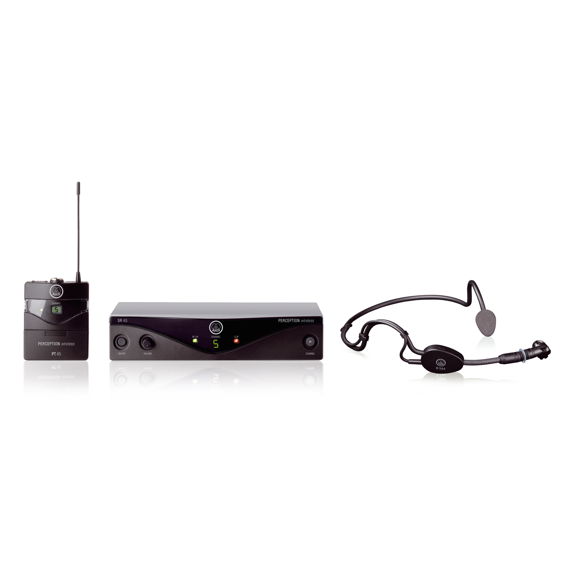 High-performance wireless microphone system