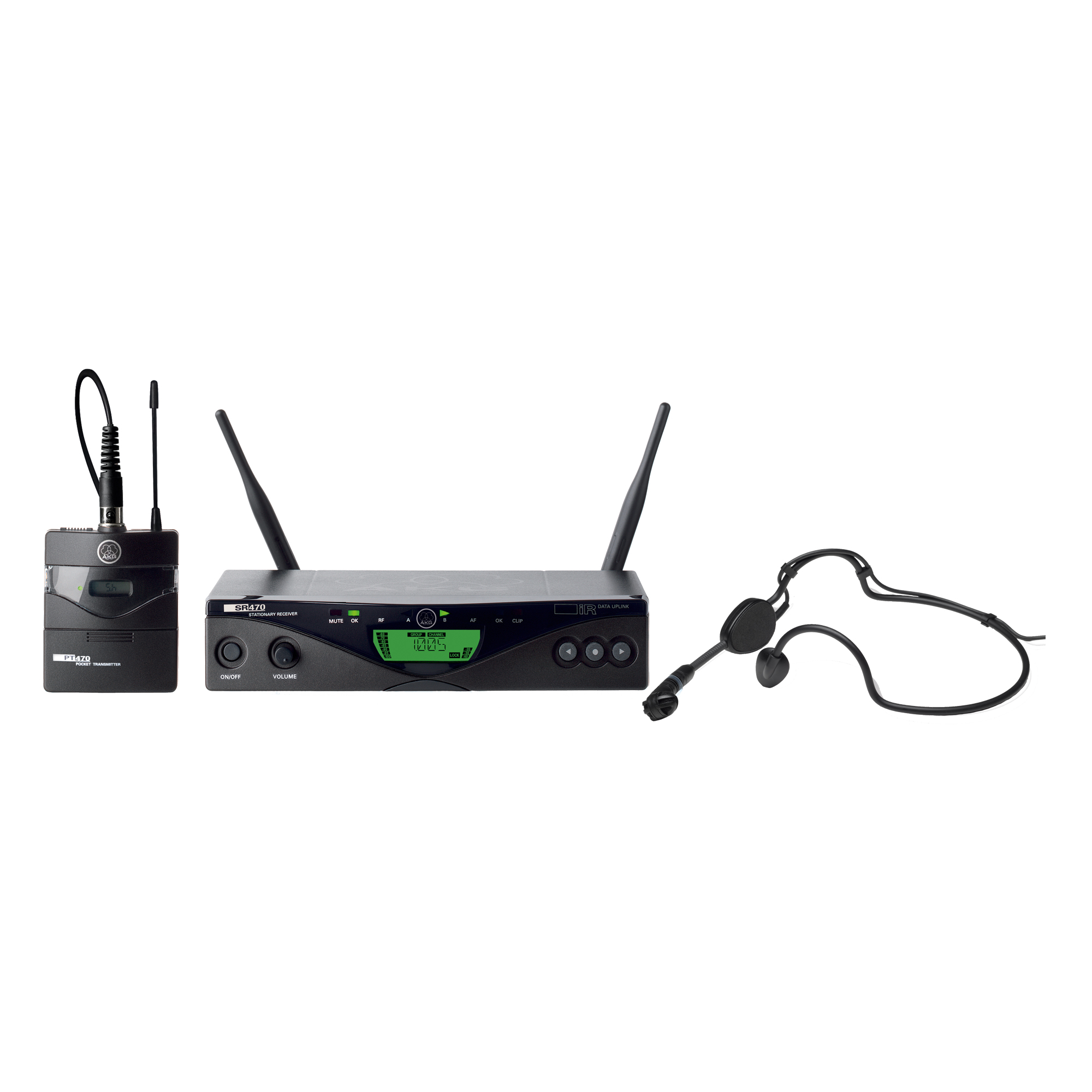 Headworn Set Professional Wireless Microphone System