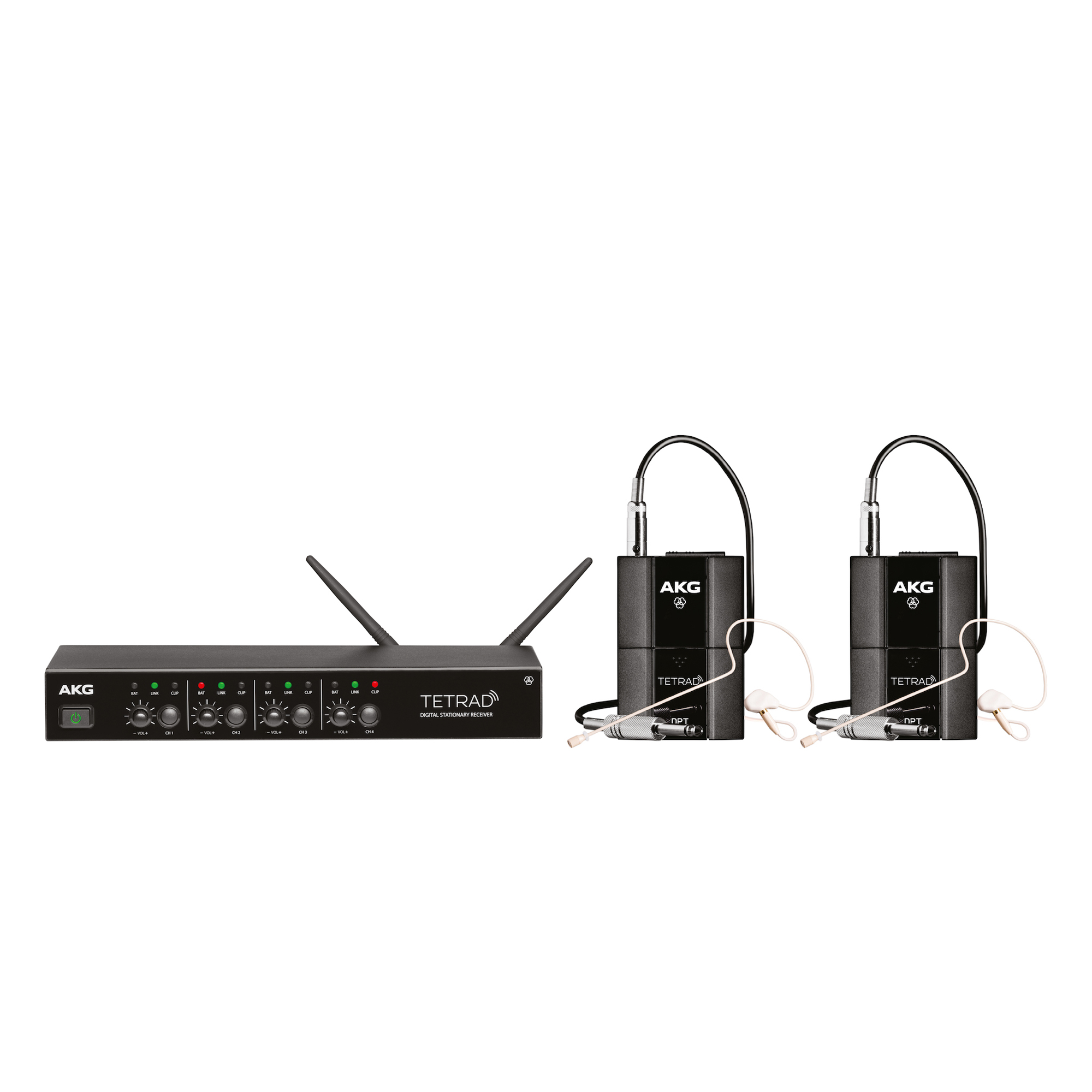 Professional Digital Four Channel Wireless System