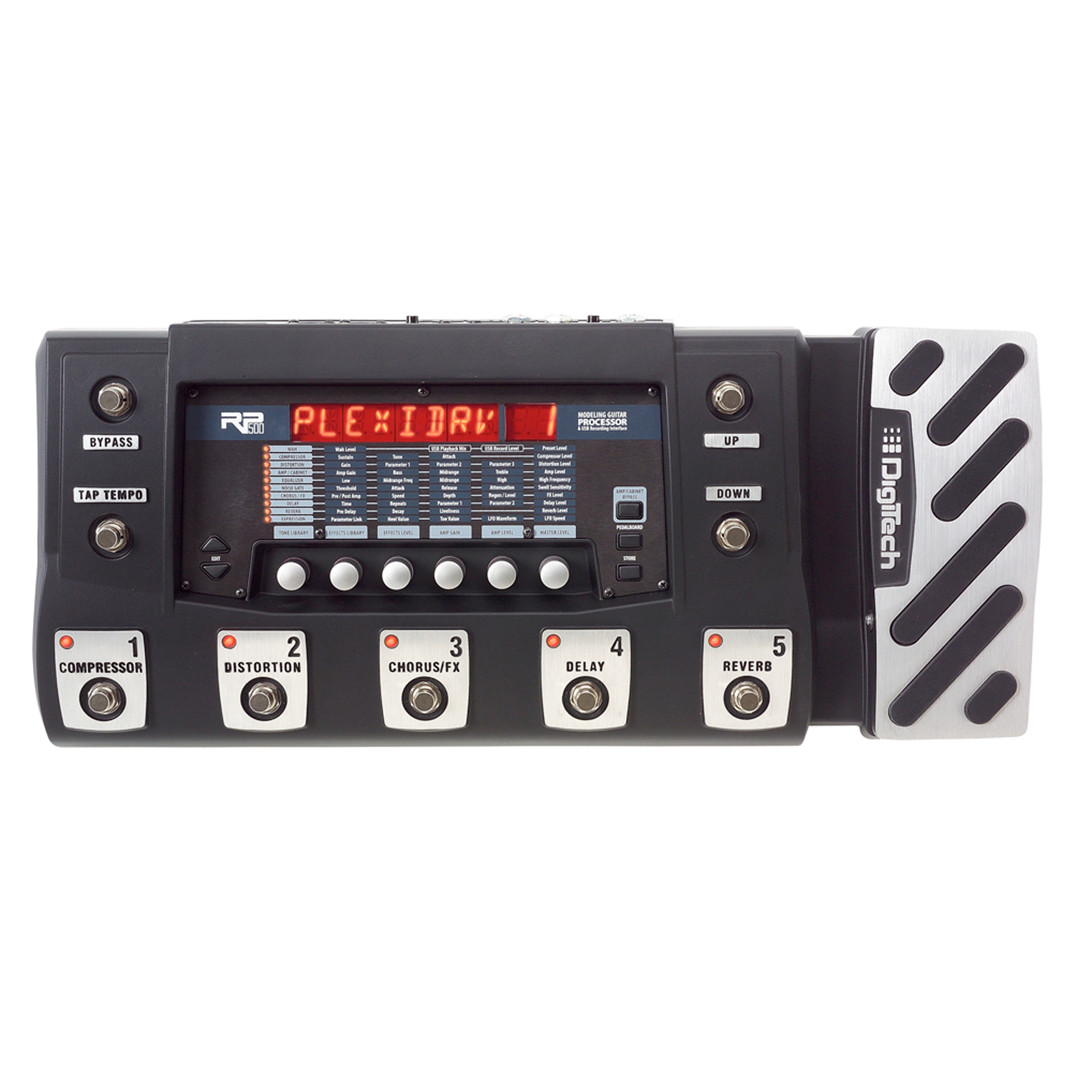 Multi-Effects Switching System & USB Recording Interface