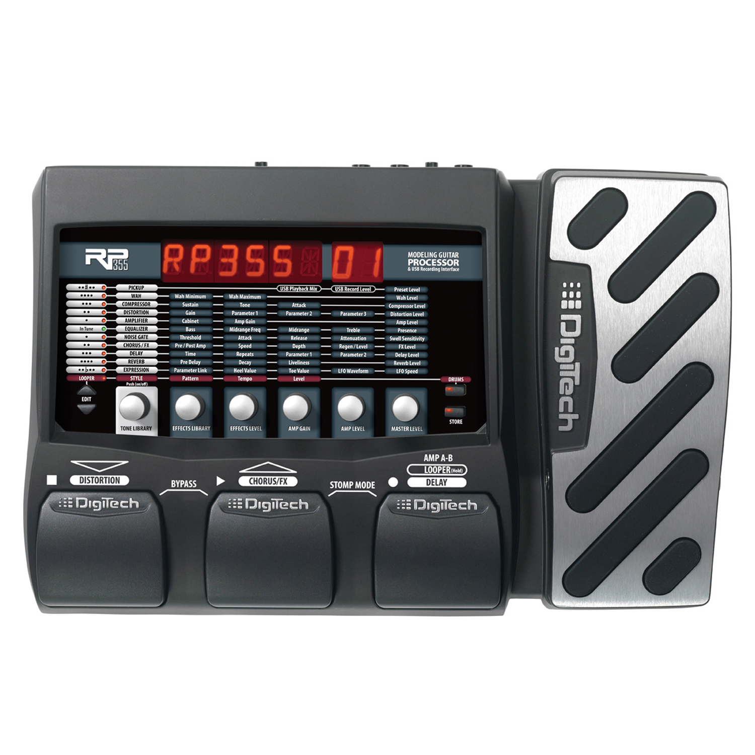 Guitar Multi-Effects & USB Recording Interface