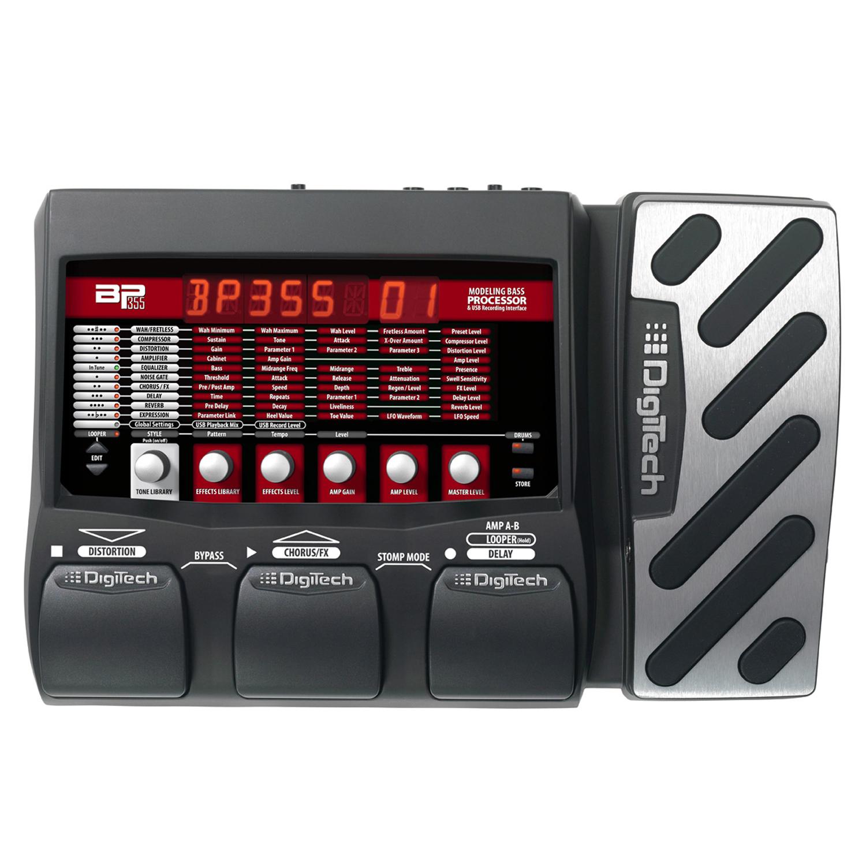 Bass Multi-Effects & USB Recording Interface