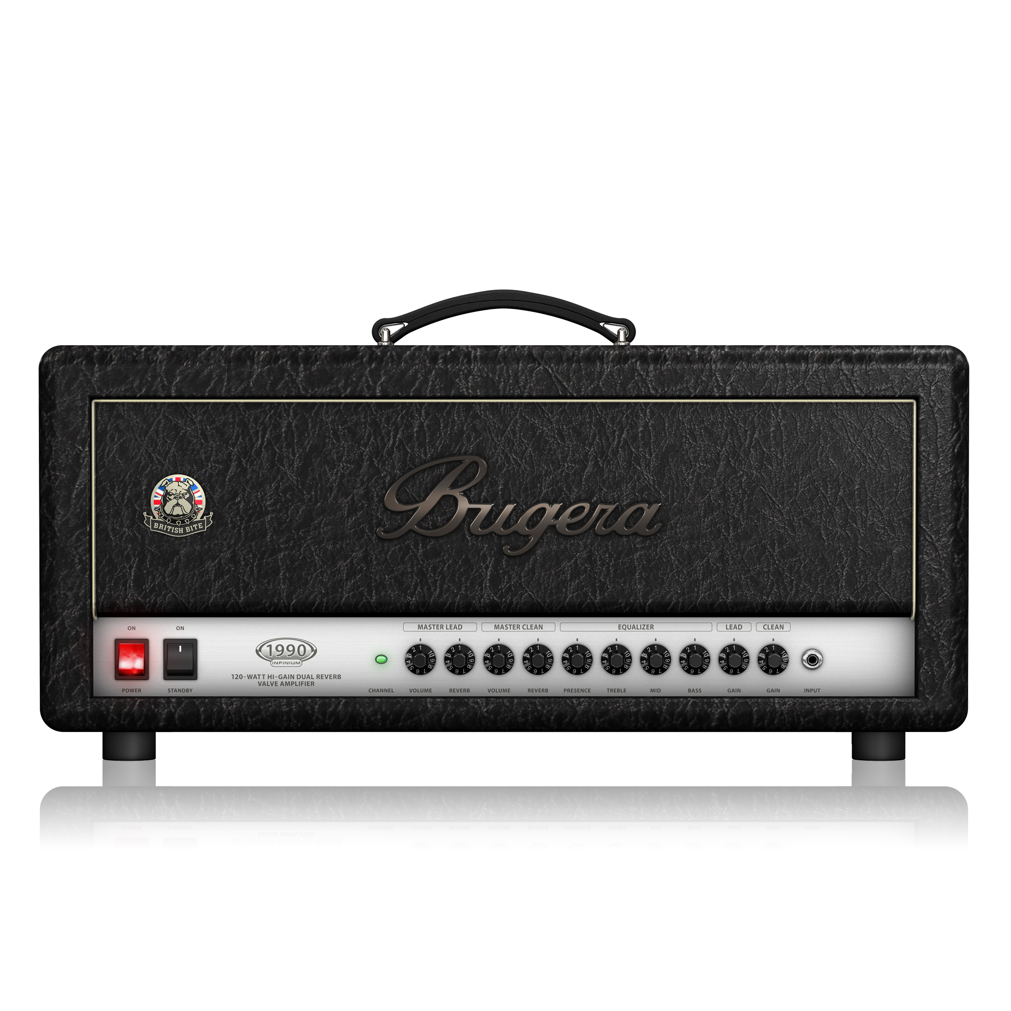 British Bite 120-Watt Tube Amplifier Head with Reverb and INFINIUM Tube Life Multiplier