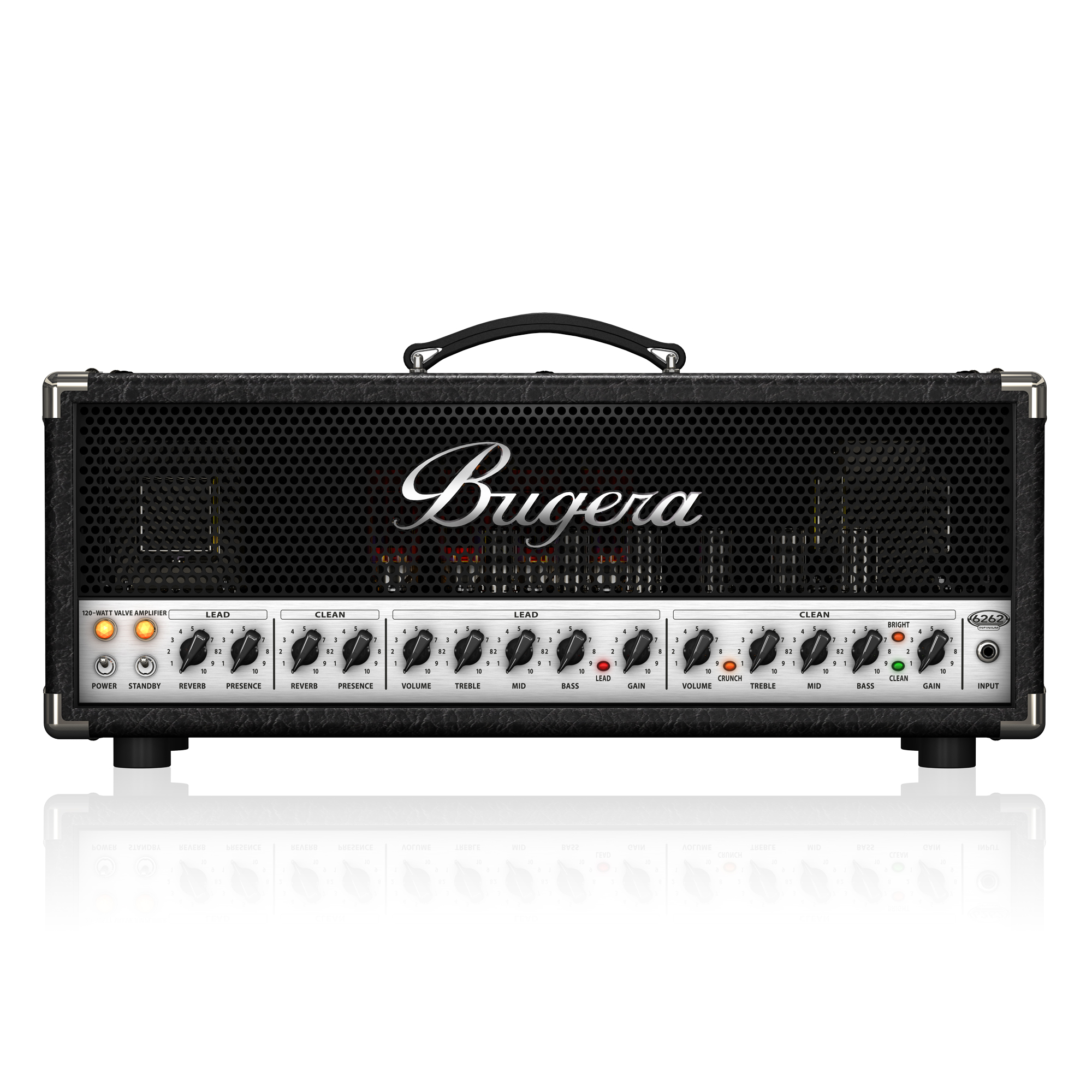 Ultimate Rock Tone 120-Watt 2-Channel Tube Amplifier Head with ...