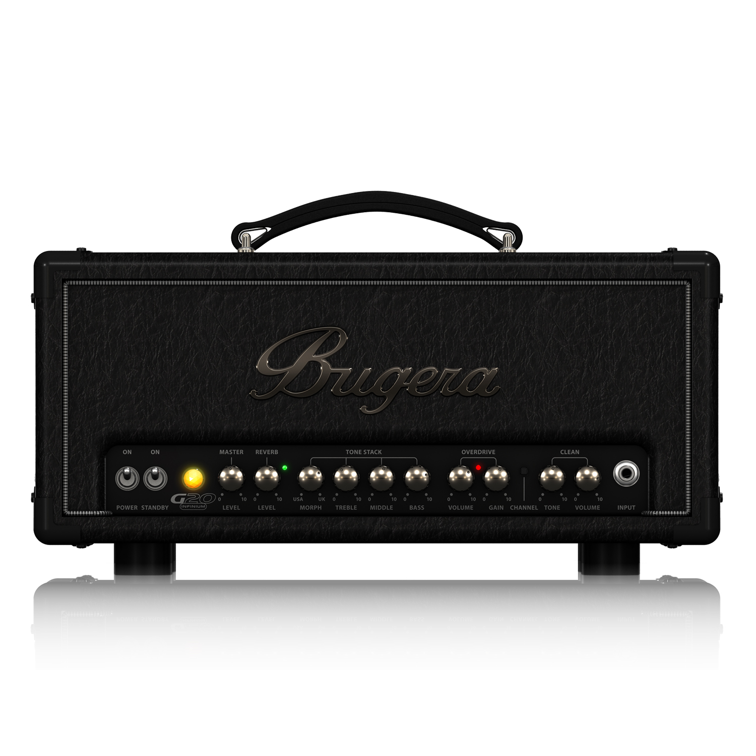 20-Watt Class-A Tube Amplifier Head with INFINIUM Tube Life Multiplier, MORPH EQ and Reverb