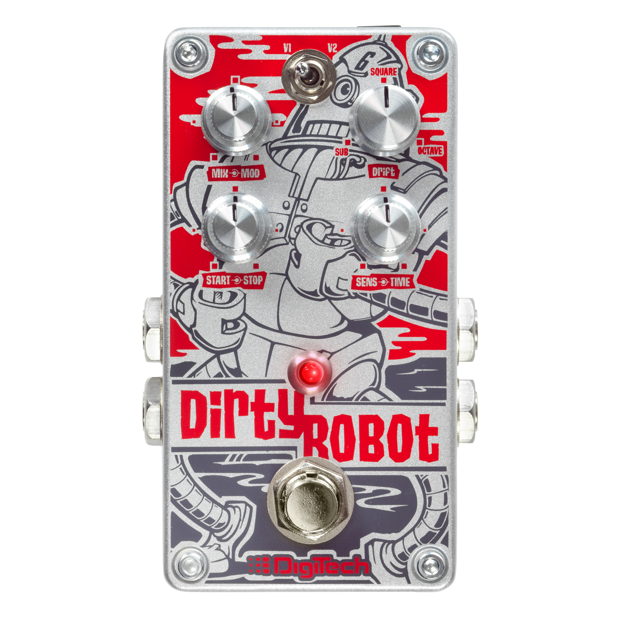 Stereo Mini-Synth Pedal