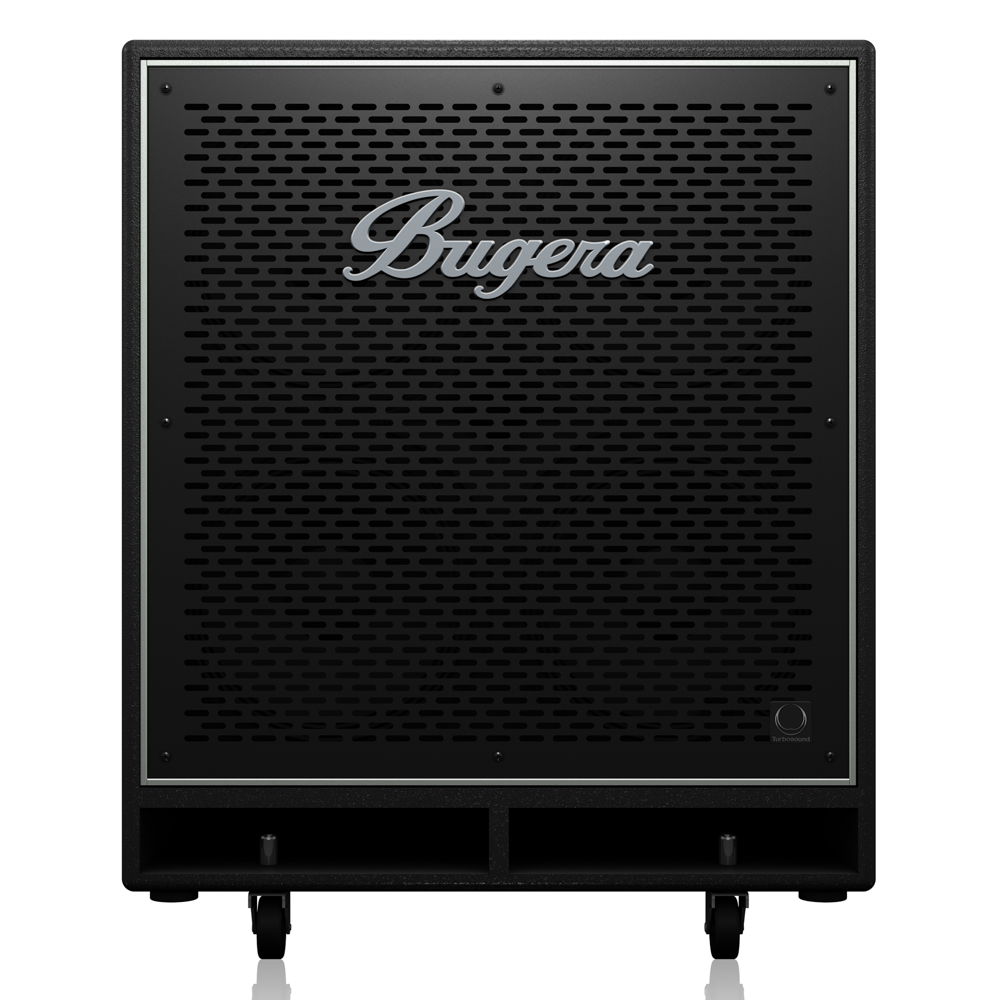 High-Performance, Lightweight 2,800-Watt Bass Cabinet with 4 x 10´´ TURBOSOUND Speakers and 1´´ Horn Driver