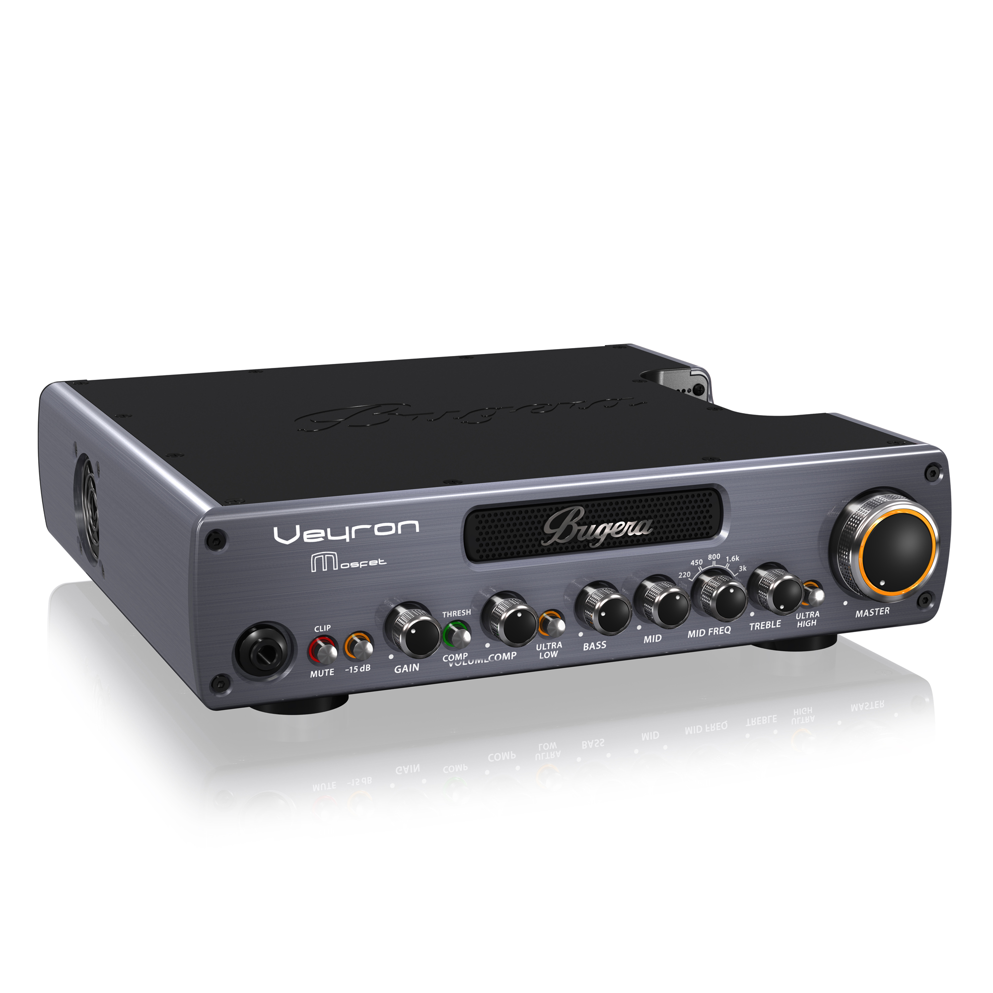 Ultra-Compact 2,000-Watt Class-D Bass Amplifier with MOSFET Preamp, Compressor and DYNAMIZER Technology