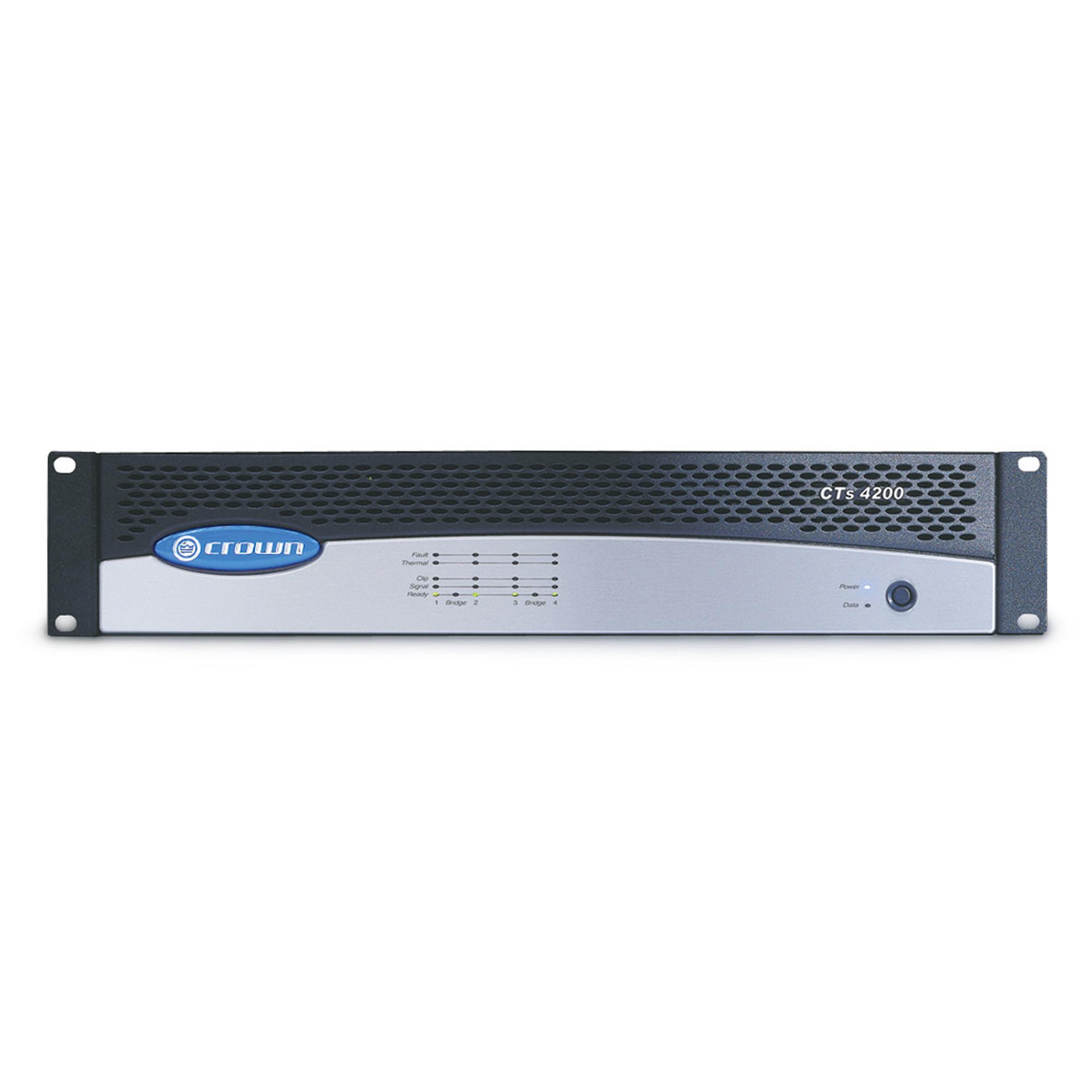 Four-channel, 260W Power Amplifier
