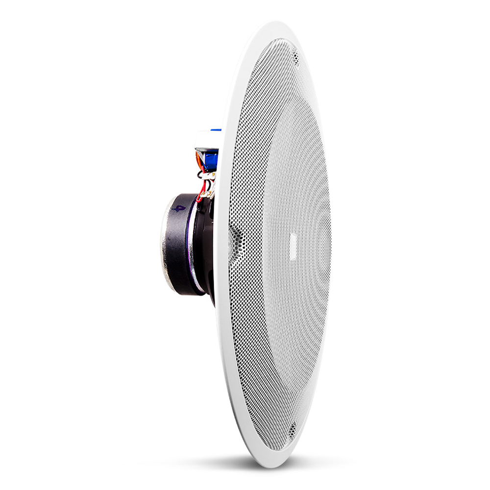 "8"" (200 mm) Full-Range In-Ceiling Loudspeaker for use with Pre-Install Backcans"