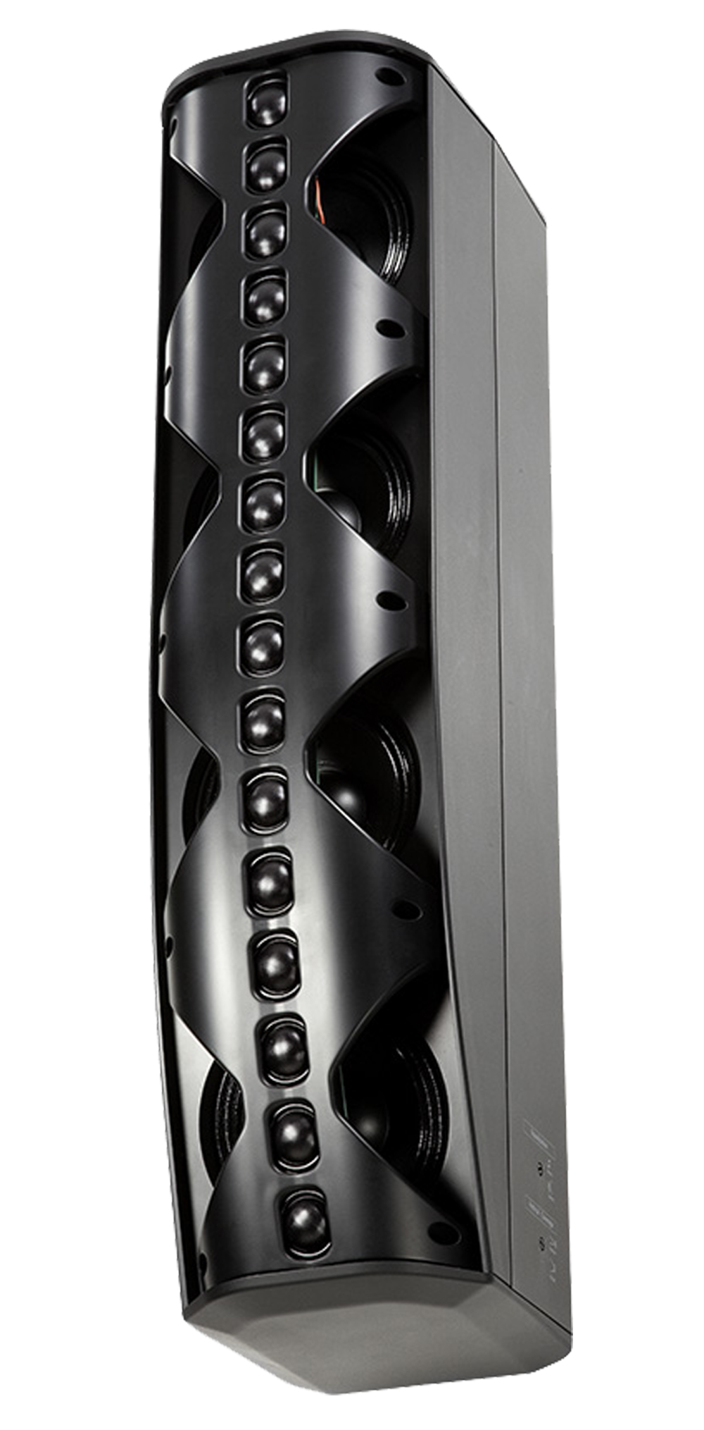 Constant Beamwidth Technology™ Two-Way Line Array Column with Asymmetrical Vertical Cove