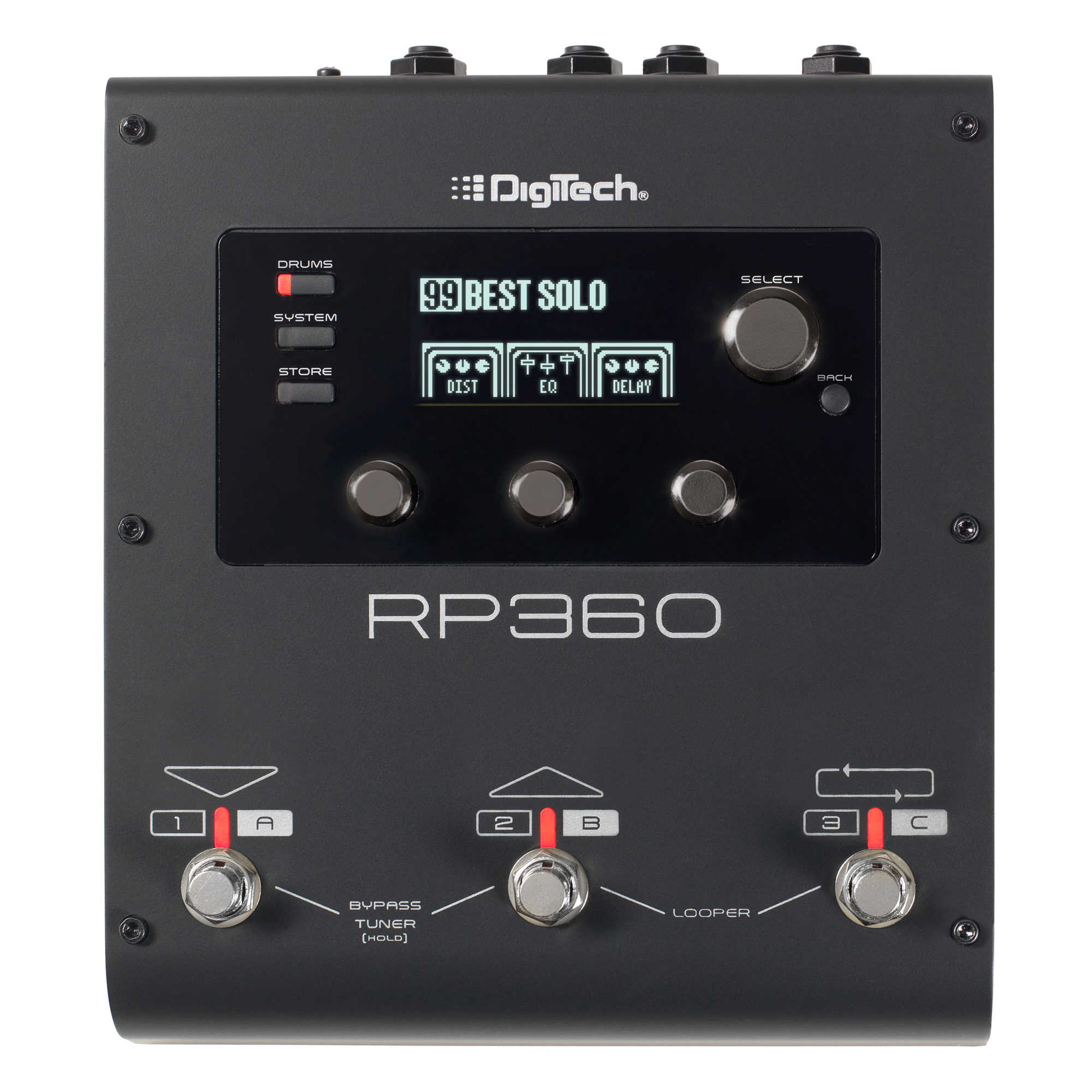 Guitar Multi-Effect Floor Processor with USB Streaming