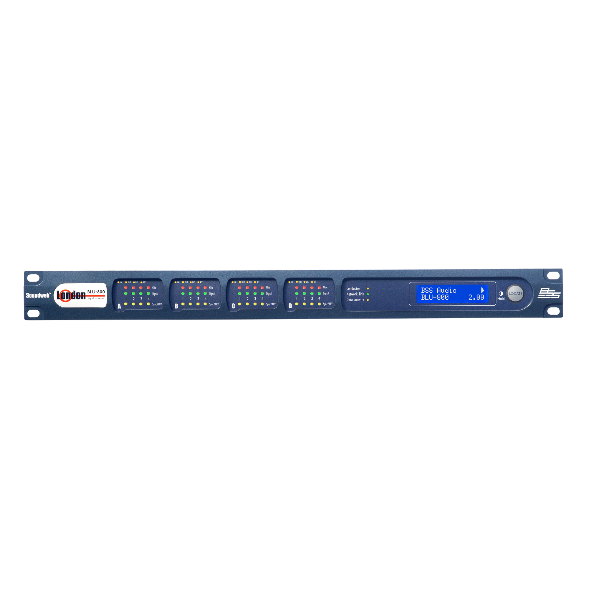 Signal Processor with BLU link and CobraNet™