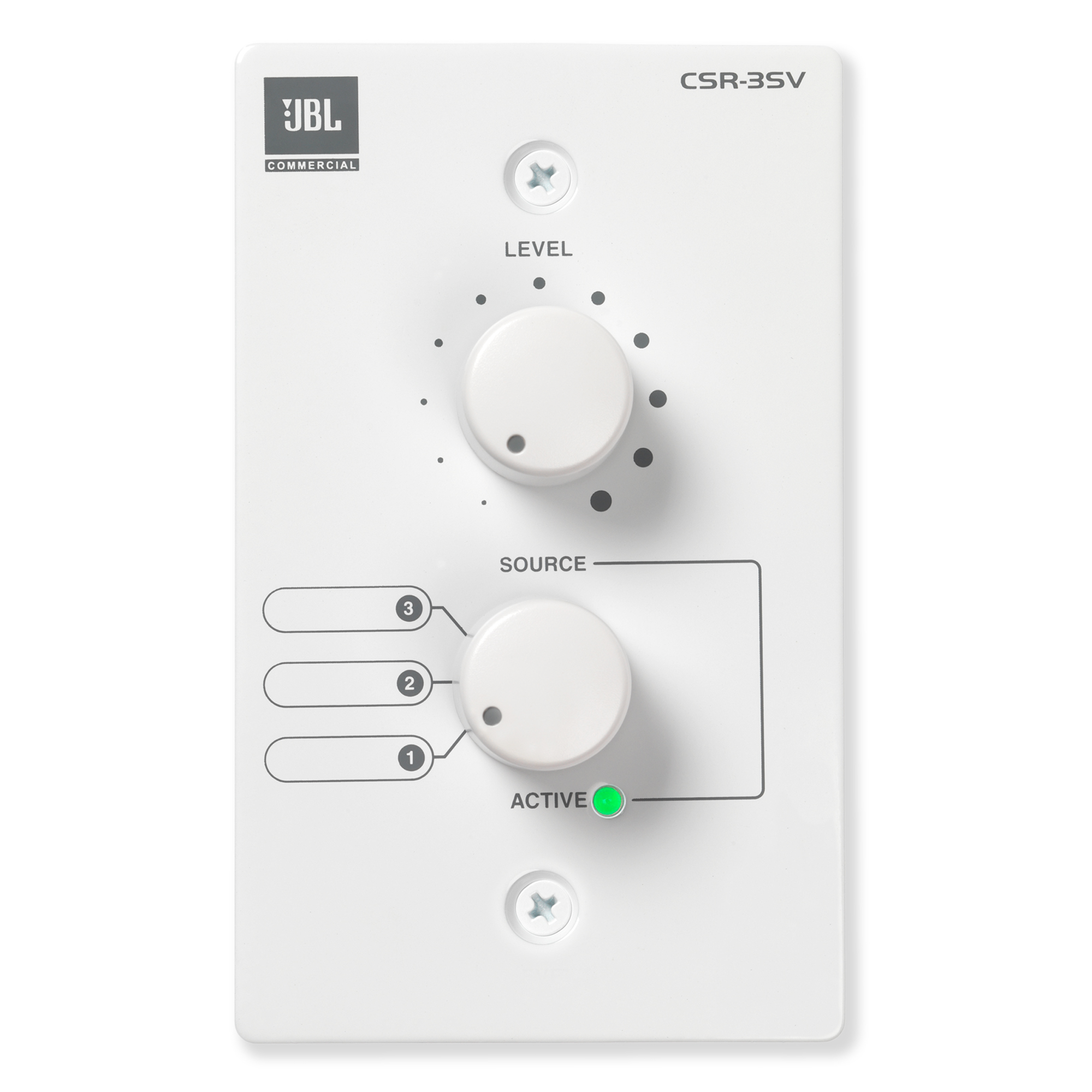 The JBL Commercial® CSR Series Remote Controls