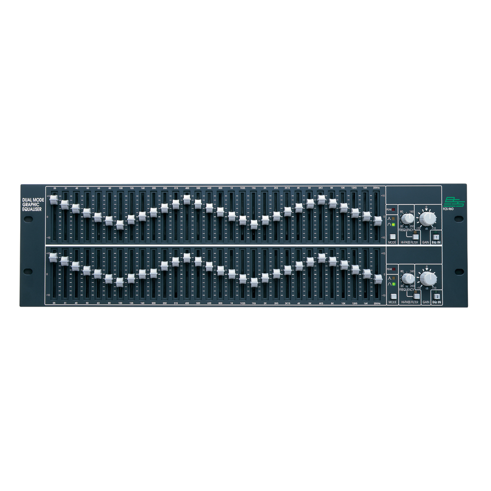 Dual Channel/Mode Graphic EQ