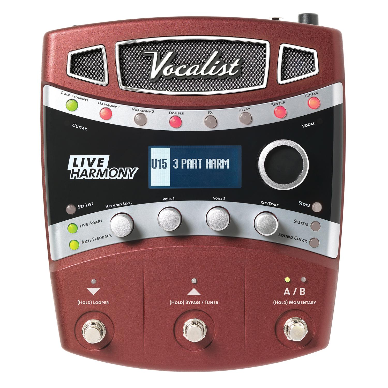 Live Performance Intelligent Vocal Harmony Processor