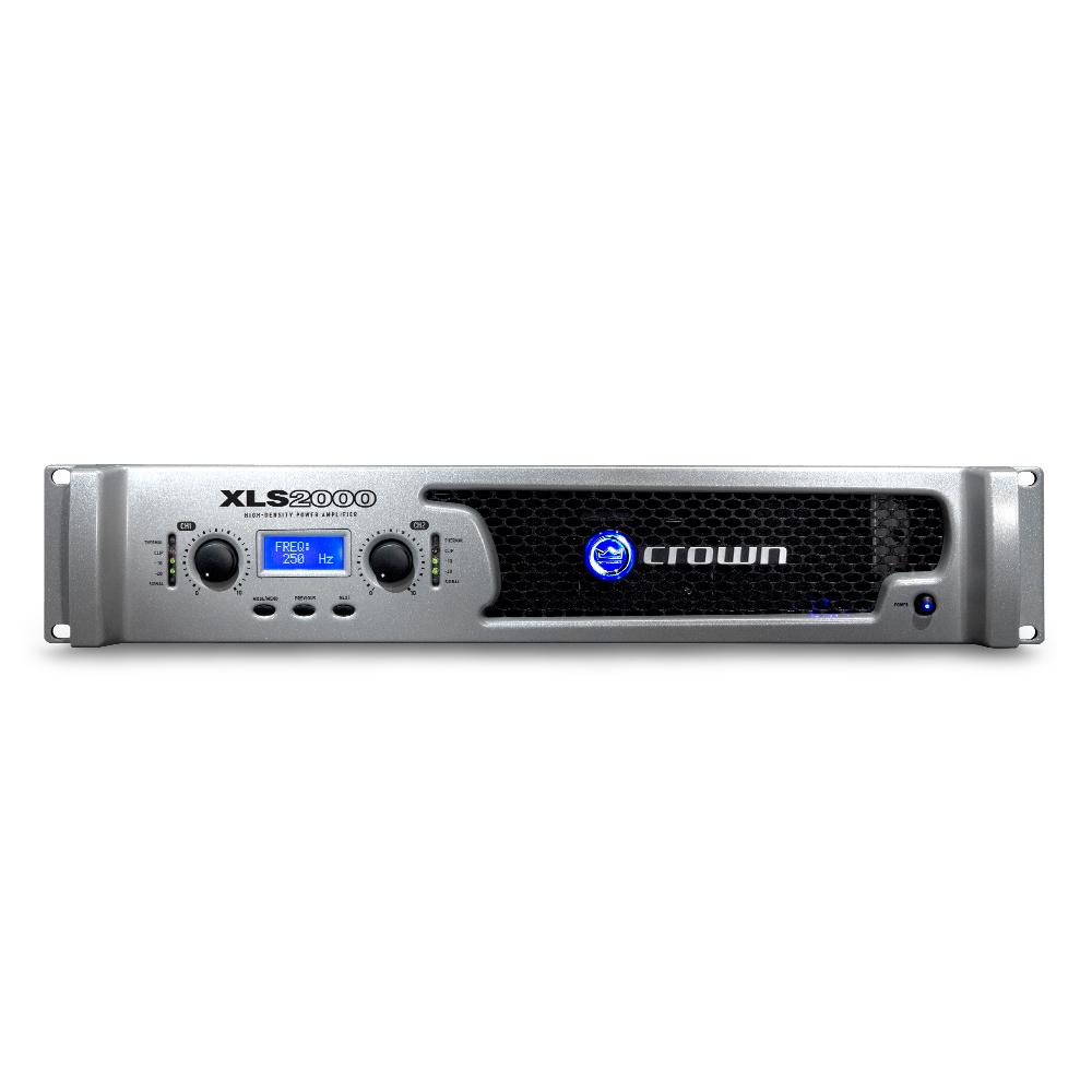Two-channel, 650W @ 4Ω Power Amplifier