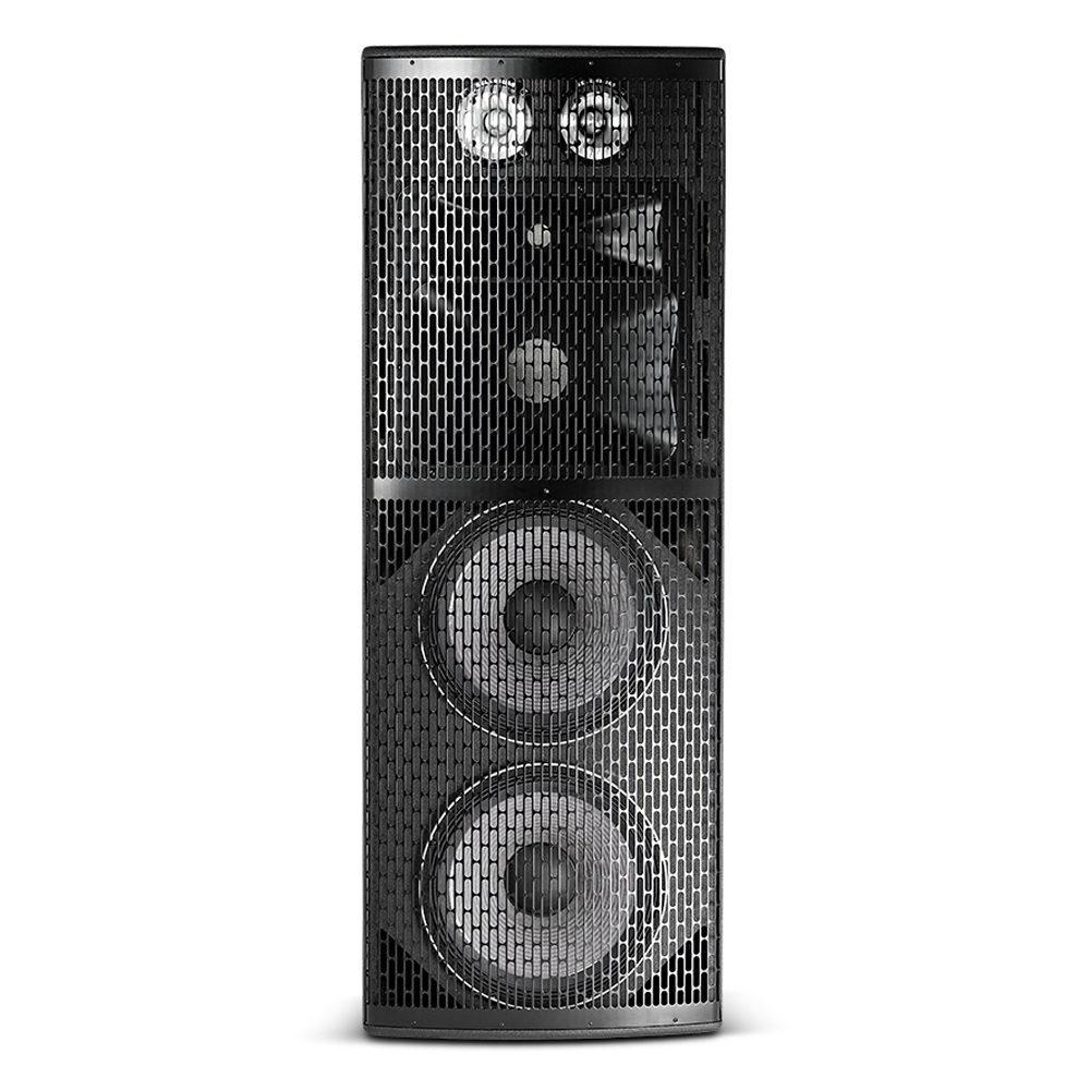 "High Power 4-Way Loudspeaker with 2 x 15"" LF Driver"