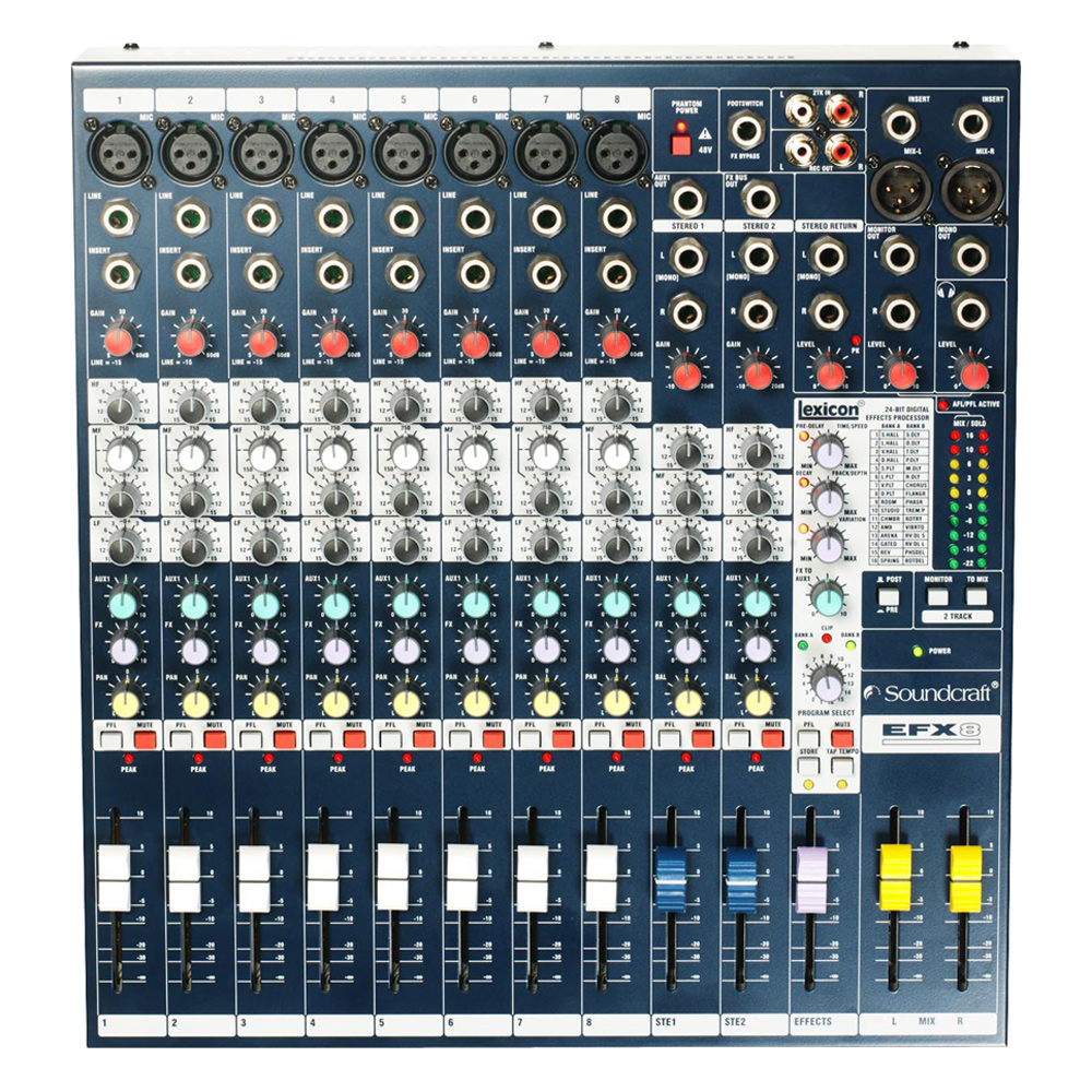 Low-cost, high-performance Lexicon® effects mixers